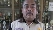 KEPALA SMPN 3 BANDUNG Drs. H. Endang Rachman, pupuhu nu titén-getén kana kapramukaan
