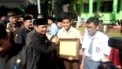 Peringatan Hari Pendidikan Nasional  taun 2016 Tingkat Kabupatén Bandung  Muser di SMAN 1 Balééndah