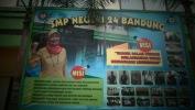 Kagiatan PPDB jalur Non Akademik taun Pelajaran 2016-2017  di SMPN 24 Kota Bandung