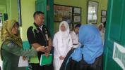 Penilaian Lomba UKS Di SMPN 31 Bandung Meunang Pangrojong Ti Masarakat Sabudeureunana