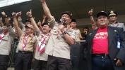 """Rekor ORI Ngagorowokkeun Kecap """"Bandung Juara"""" Bari ngacungkeun Jempol Ka luhur Dina Miéling HUT Pramuka nu ka-55 taun sa-Kota Bandung"""