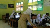 Simulasi UNBK Mandiri Di SMPN 36 Kota Bandung Dina Ngadeudeul BANDUNG Smart City