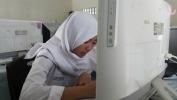 Simulasi UNBK Pamungkas di SMK PGRI Kota Bandung Kaganggu ku Jaringan Lisrik nu Teu Stabil