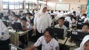 Simulasi UNBK SMPN 27 Kota Bandung Kolaborasi jeung SMAN 14 Kota Bandung