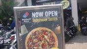Harga Pizza Di  Domino's Pizza Sudirman Suites Ukur Rp. 42.500 Disc 50% ti tanggal 10 April-7 Méi 2017