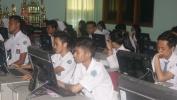 Nepi Poé Katilu  Kagiatan UNBK di SMA Pasundan 1 Kota Bandung Bajalan Lancar