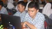 426 Siswa SMAN 1 Margahayu Kabupatén Bandung 100 Persen Hadir Nepi ka UNBK taun 2017 Lekasan