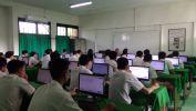 Poé Kahiji UNBK di SMK Merdeka Kota Bandung Diiluan ku 506 Siswa
