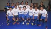 """Tim Futsal Majalah Sora Plus Maén Imbang lawan Tim Guru Karyawan SMAN 18 Kota Bandung Dina Raraga """"Eksebisi Turnamen Futsal Sora Cup II, 15-20 Méi 2017"""""""