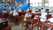 Di SMAN 1 Cikancung Kabupatén Bandung Aya Tilu Jurusan Nu Ngiluan UNBK taun 2017
