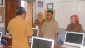 UNBK DI SMAN 20 Kota Bandung Di Longok ku Pa Hadadi Kepala Dinas Propinsi Jawa Barat