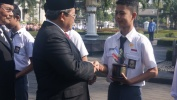 Hardiknas Taun 2017 Tingkat Propinsi Jawa Barat, Pa Ahmad Heryawan Miharep Pendidikan di Propinsi Jawa Barat Leuwih Walatra