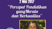 Pangwilujeng Hardiknas taun 2017 ti SMAN 10 Kota Bandung