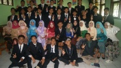 Pelepasan Siswa Kelas IX SMPN 36 Kota Bandung taun 2017 Dikokolakeun tur Diwaragadan ku Orang Tua Siswana