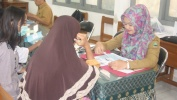 Tina PPDB jalur Non Akademik, SMKN 8 Kota Bandung baris Nampa 162 siswa