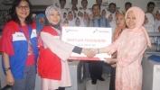 SMKN 5 Kota Bandung Meunang Bantuan Rp. 160 juta Rupia ti Pertamina Region Jawa Bagian Barat