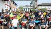 Kampanyekan Hidup Sehat, Netty Heryawan Ikut Gowes di Festival Sepeda Lipat