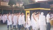 Miéling Idul Adha 1438 H, SMAN 24 Bandung Ngayakeun Kagiatan Simulasi Manasik Haji & Meuncit Sato Qur'ban