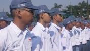 Salila Tilu Poé, Siswa Kelas X SMAN 10 Kota Bandung Digodog dina Kagiatan Pendidikan Karakter dan Latihan Dasar Kepemimpinan 2017, di Secapa TNI AD Bandung