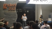 Jagat Kertas di ISBI: Mahasiswa Nyiar Luang Tina Pameran