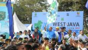 1.470 Pelari Ikuti Maraton Pertama Bertema Lingkungan di Pangalengan