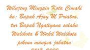 Ucapan Selamat Kepada Walikota & Wakil Walikota Cimahi periode 2017-2022