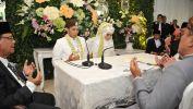 Gubernur Aher Nikahkan Putra Kedua