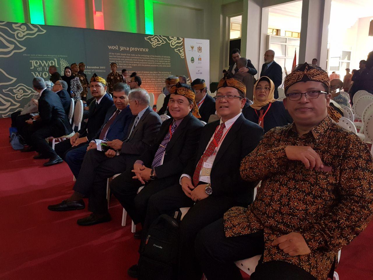 Di Explore Indonesia, Produk Jabar Disambut Warga Maroko