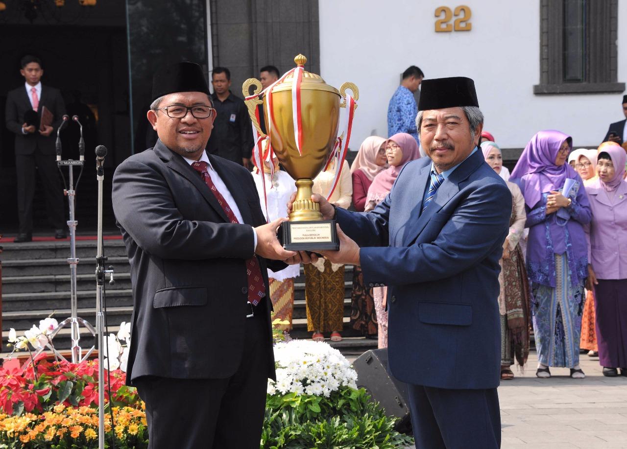 Juara Di PORNAS KORPRI XIV 2017, Pemacu Semangat 'Jabar Kahiji' di Semua Bidang