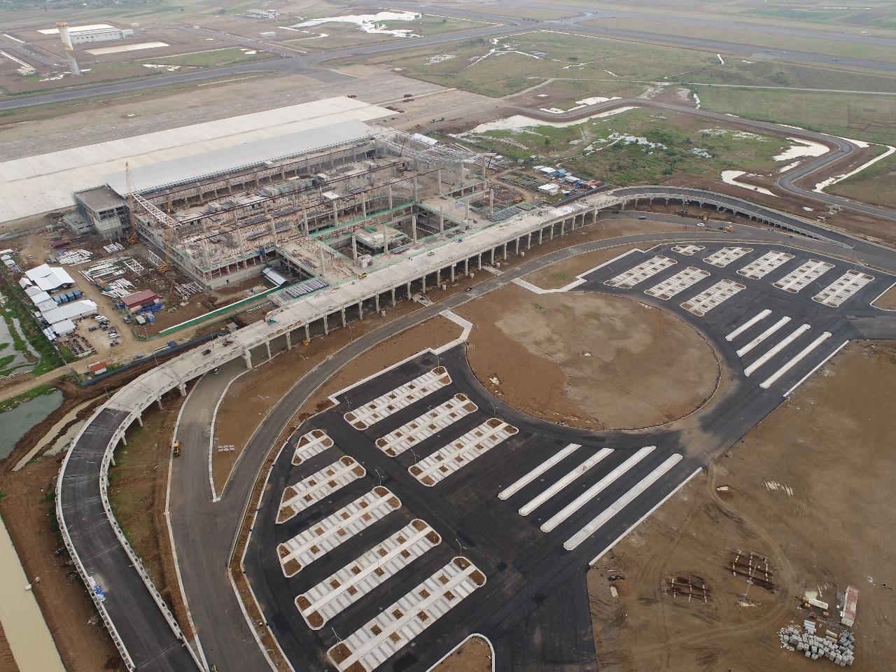 Kejar target, Bandara Kertajati Dikebut Siang Malam