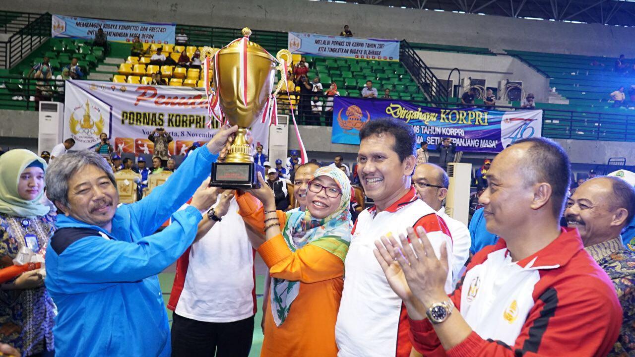 Kompetisi Olah Raga PNS Se-Indonesia, Jabar Selalu 'Kahiji'