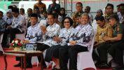 Presiden RI dan Gubernur Jabar Peringati  HUT PGRI Ke- 72 dan HGN Tahun 2017 di Bekasi