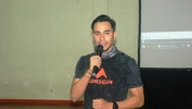 Darius Sinathrya Sambangi SMKN 5 Kota Bandung