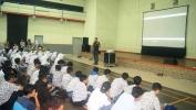 Pusbangfilm Hadirkan Darius Sinathrya di SMKN 5 Kota Bandung