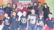 Kolaborasi Faifals Cianjur & RA Nasyidul Ummi Bersihkan Lingkungan