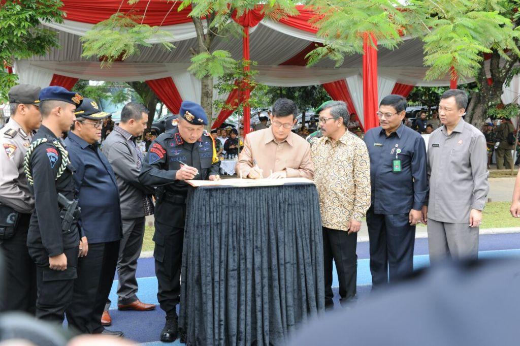 Polda Jabar Terjunkan 21.438 Personil, Untuk Amankan Pilkada Serentak
