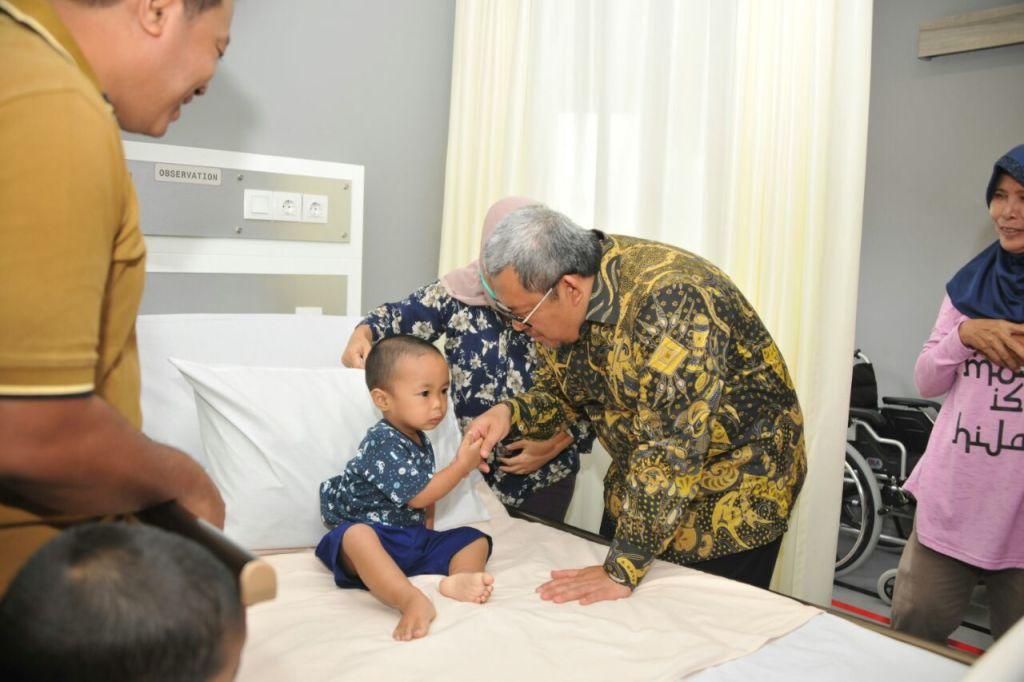 (RSIA) Brawijaya di Sawangan Kota Depok, Gubernur Jawa Barat Ahmad Heryawan
