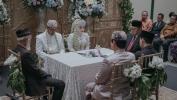 Aher Menjadi Saksi Pernikahan Putri Kabid SMK Disdik Jabar