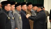 Gubernur Aher Lantik 7 Penjabat Sementara Bupati/ Walikota