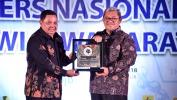 Puncak Hari Pers Nasional 2018 PWI Jabar Beri Penghargaan Bagi Aher dan Netty
