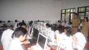 507 Siswa SMAN 15 Kota Bandung Ikuti Simulasi UNBK Ketiga