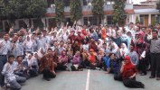 SMAN 6 Cimahi Menuju Sekolah Adhiwiyata Mandiri 2019 : School Visit Programme From Green Army
