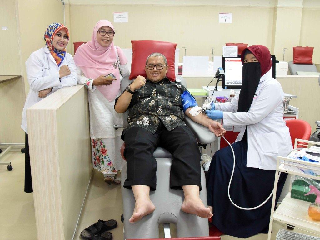 aher donor darah buat ghairan