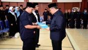 Gubernur Aher Lantik 123 Kepsek SMU, SMK, SLB Negeri
