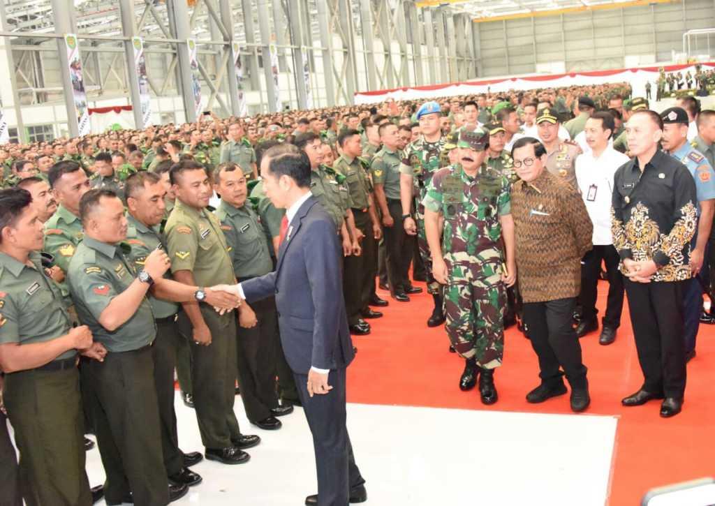 Jokowi babinsa bandung