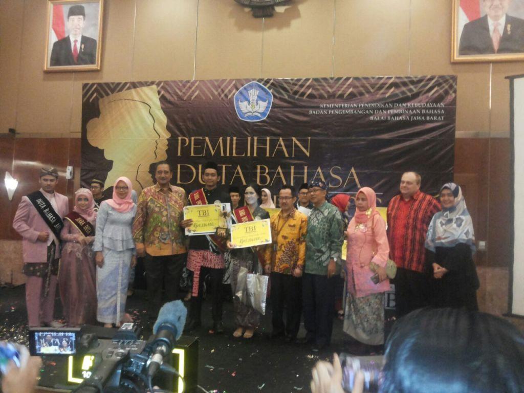 final pemilihan duta bahasa jawa barat 2018
