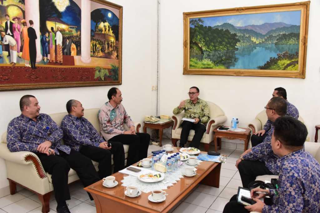 Iriawan Minta BPKP Monitoring Pembangunan di Jawa Barat