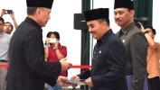 Iriawan Lantik Lima Pejabat Fungsional Ahli Utama Pemda Jabar