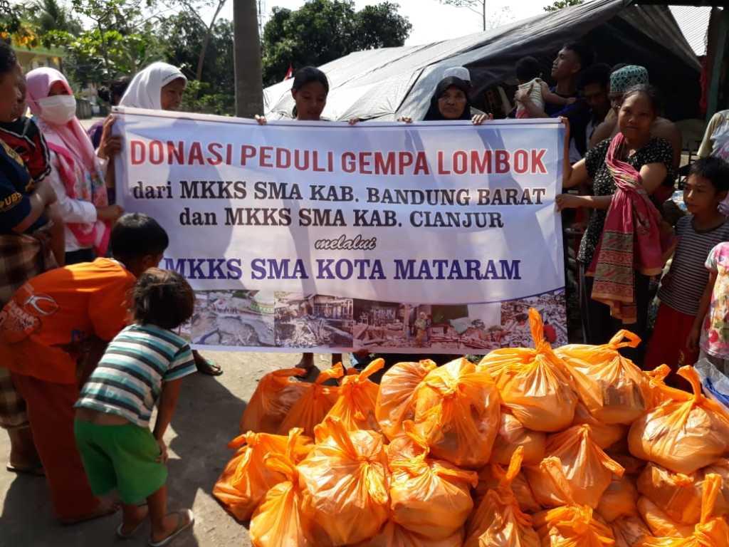 bantuan gempa lombok dari mkks kbb dan kab cianjur (1)