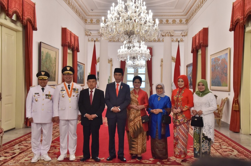 ridwal kami gubernur jabar 2018-2023 dilantik pesiden ri